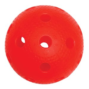 Balle floorball Precision, rouge