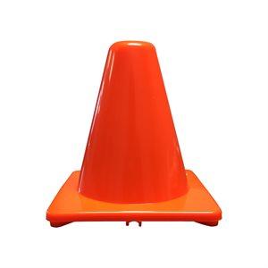 Cône en PVC souple, orange