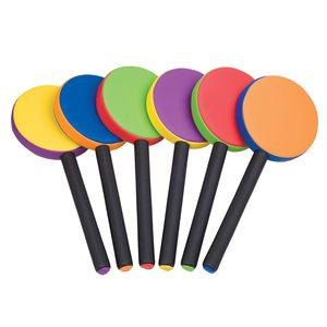 6 raquettes en Rhino Skin®