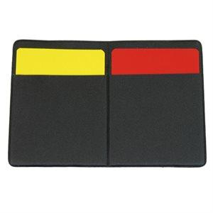 cartes d'arbitre de soccer