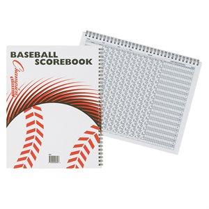 Livret de pointage de baseball