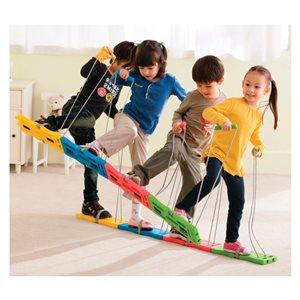Ens. de 4 paires de skis de balade