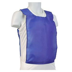 Dossard en nylon bleu
