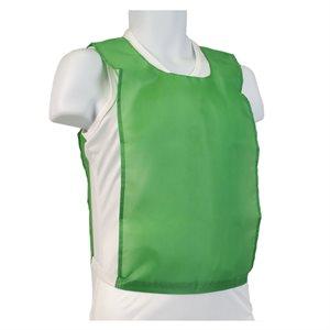 Dossard en nylon vert