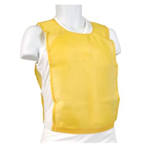 Dossard en nylon jaune