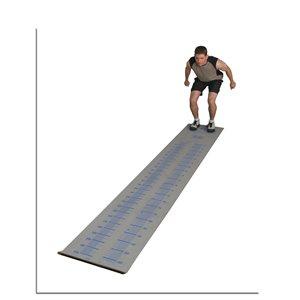 Tapis de mesure pour saut en longueur