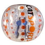 Bulle de soccer-bulle, 1,5m, orange