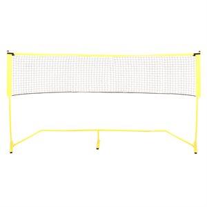 Filet et poteaux de soccer / tennis portables, 18'