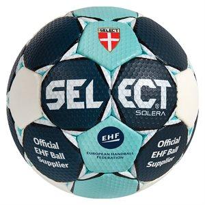 Ballon de handball Select Solera, mauve / vert, #2