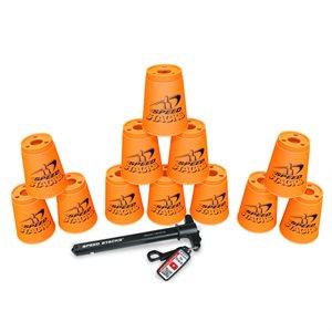 12 gobelets Speed Stacks, oranges