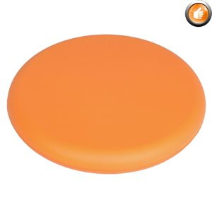 Frisbee en mousse recouvert de vinyle