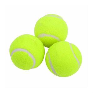 3 balles de tennis pour débutants