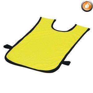 Dossard en polyester pour 2-5 ans, jaune