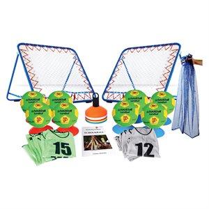 Ens. de 43 items de tchoukball, enfant