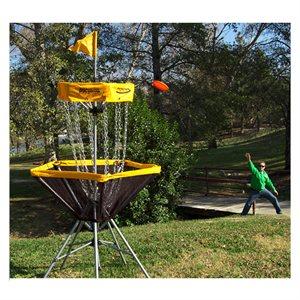 Panier de disc golf portatif
