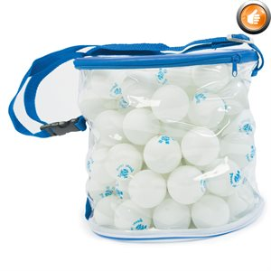 100 balles de tennis de table