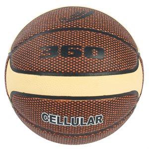Ballon de basketball en composite Cellular™, brun / crème
