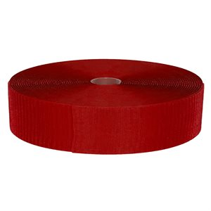 Rouleau de velcro pour FlexiRoll, rouge