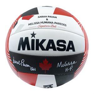 Ballon de volleyball de plage signature Sarah Pavan et Melissa Humana-Paredes