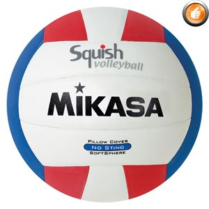Ballon de volleyball de plage Squish®, tricolore