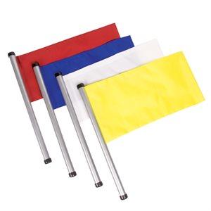 4 drapeaux d'arbitre de water-polo