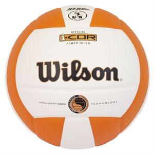 Ballon de volleyball Wilson Power Touch, orange