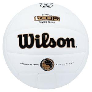 Ballon de volleyball Wilson Power Touch, blanc