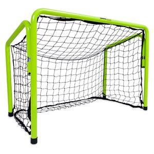 Cage de but en acier avec filet, 90cm x 120cm