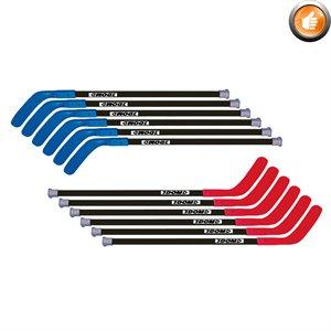 "12 bâtons de hockey DOM Excel, 45"""