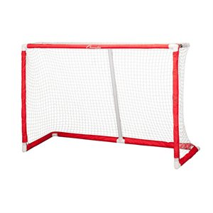 "But de hockey repliable avec filet 72""x48""x24"""